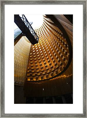 Great Cone Of The Caldera Structure Framed Print
