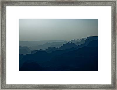Great Crevice Framed Print by Joel Loftus