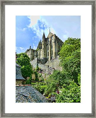 Great Day At The Mont Framed Print