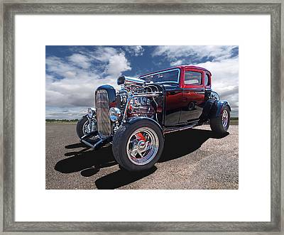 Great Day For A Cruise Framed Print by Gill Billington