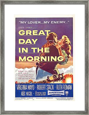 Great Day In The Morning, Us Poster Framed Print
