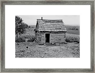 Great Depression Framed Print