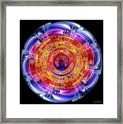 Framed Print featuring the digital art Great Energy by Pete Trenholm