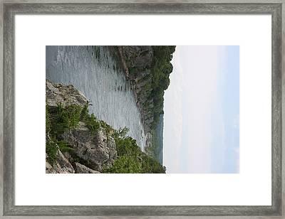 Great Falls Park - 121222 Framed Print