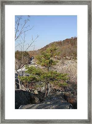 Great Falls Va - 12121 Framed Print by DC Photographer