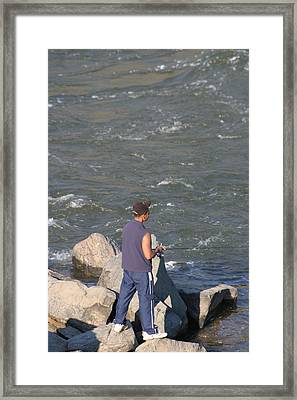 Great Falls Va - 121239 Framed Print by DC Photographer