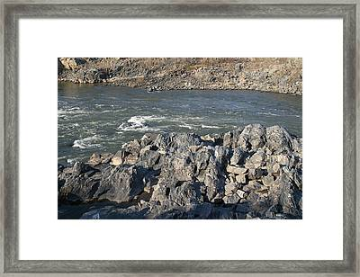 Great Falls Va - 121241 Framed Print by DC Photographer