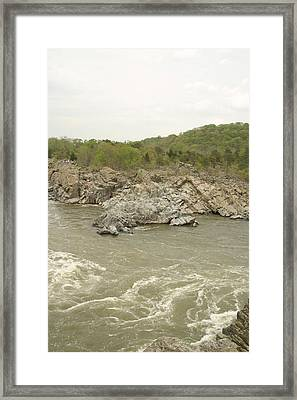 Great Falls Va - 121251 Framed Print by DC Photographer