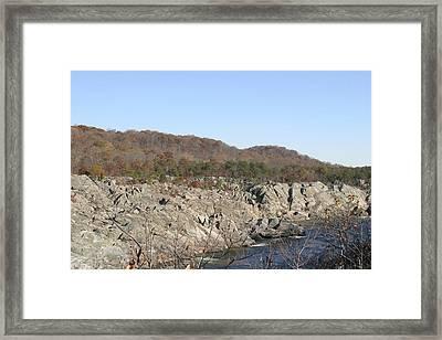 Great Falls Va - 12129 Framed Print