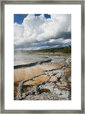 Great Fountain Geyser Thirteen Framed Print