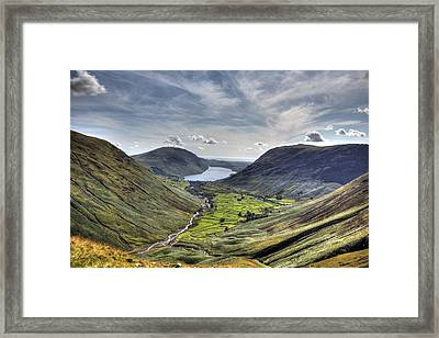 Great Gable Framed Print by Chris Whittle