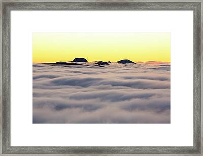 Great Gable From Red Screes Framed Print