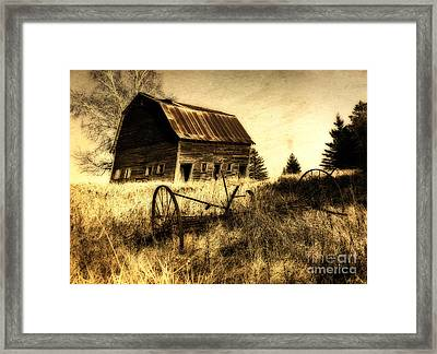 Great Grandfather's Barn II Framed Print