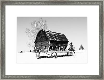 Great Grandfather's Barn Framed Print