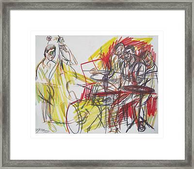 Great Jazz Framed Print by Gita Lloyd