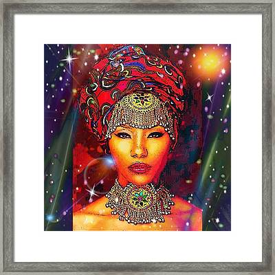 Great Lady Malkia Framed Print