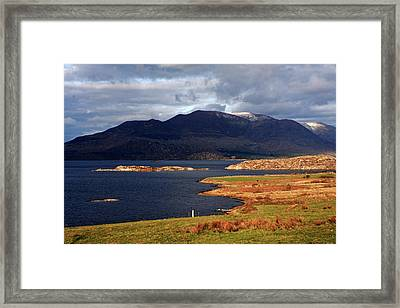 Lakes Of Ireland, Waterville, County Kerry Framed Print