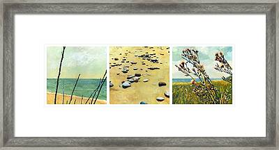 Great Lakes Triptych Framed Print
