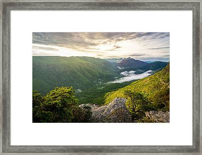 Great Linville Gorge Framed Print