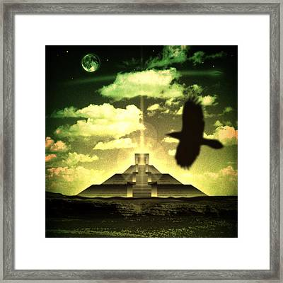 Great Mayan Dream Framed Print by Milton Thompson