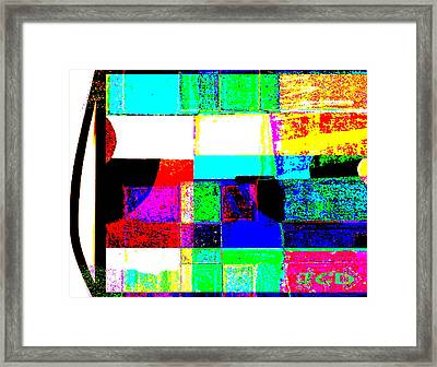 Great Mix Framed Print by Jean-Claude Delhaise