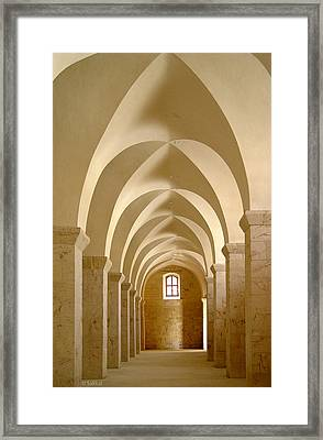 Great Mosque Of Aleppo Framed Print