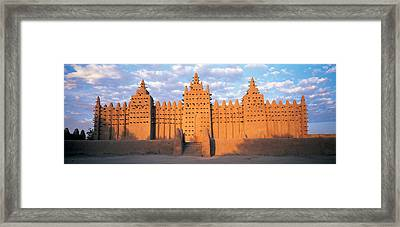 Great Mosque Of Djenne, Mali, Africa Framed Print by Panoramic Images