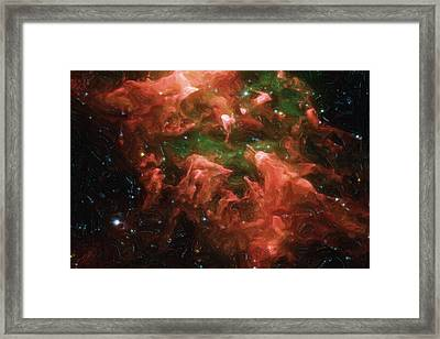 Great Nebula In Carina Framed Print by Ayse Deniz