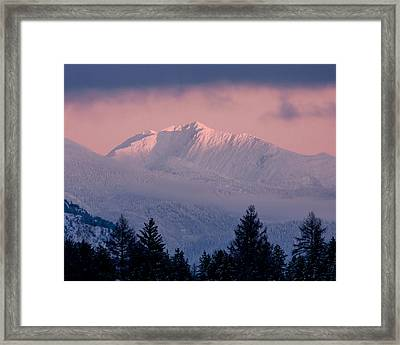 Framed Print featuring the photograph Great Northern by Jack Bell