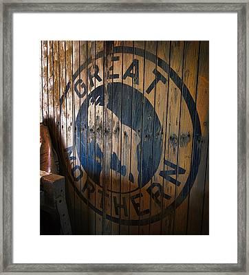 Great Northern Railroad Framed Print by Daniel Hagerman