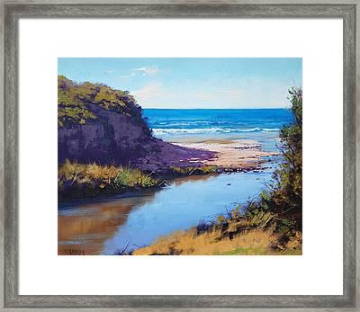Great Ocean Rd  Vic Framed Print