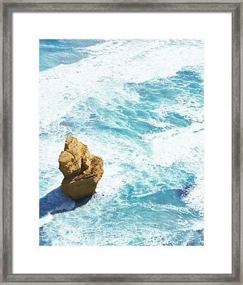 Great Ocean Road Apostle Framed Print by Sherri Abell