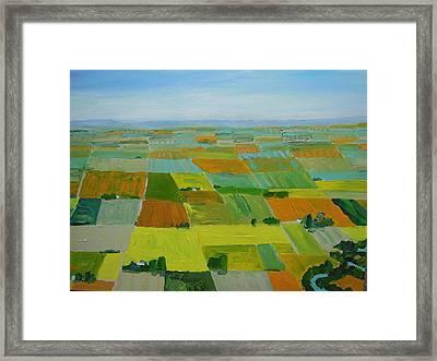 Great Plains Framed Print by Rodger Ellingson