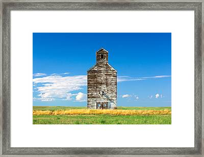 Great Plains Sentinel Framed Print by Todd Klassy