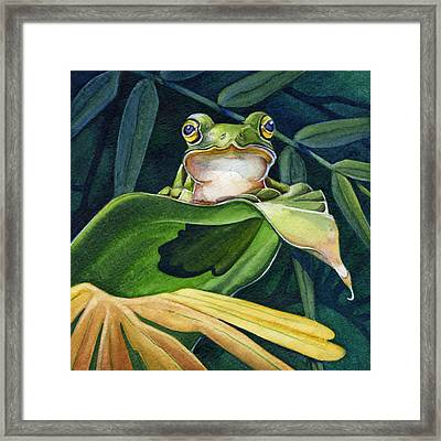 Great Pose Framed Print