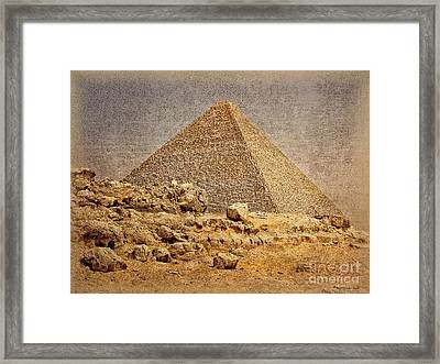 Great Pyramid Of Khufu Framed Print