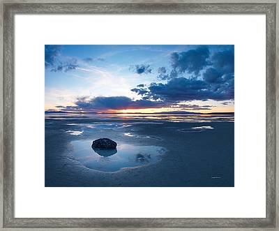 Great Salt Lake Framed Print