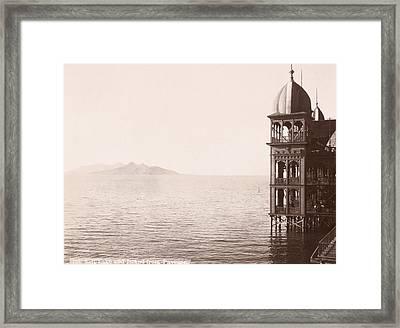 Great Salt Lake, Utah, C1900 Framed Print by Granger
