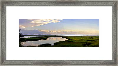 Great Salt Marsh - Plum Island Framed Print