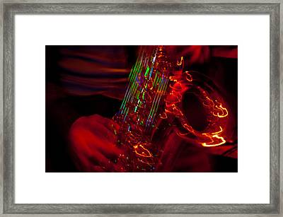 Framed Print featuring the photograph Great Sax by Alex Lapidus