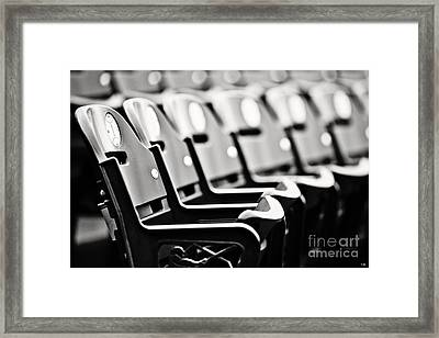 Great Seats Framed Print by Scott Pellegrin