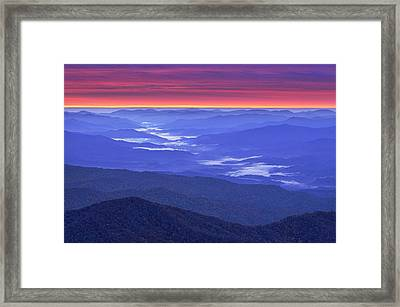 Great Smokey Mountains Framed Print by Christian Heeb
