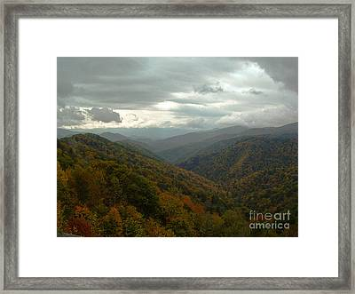 The Great Smokey Mountains Framed Print by Reid Callaway