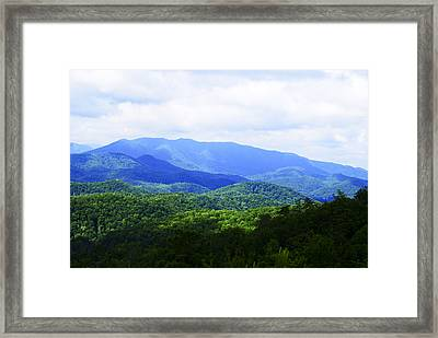 Great Smoky Mountains Framed Print by Christi Kraft