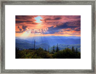 Great Smoky Mountains  Framed Print by Doug McPherson
