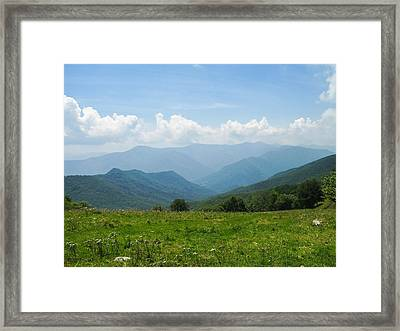 Great Smoky Mountains Framed Print by Melinda Fawver