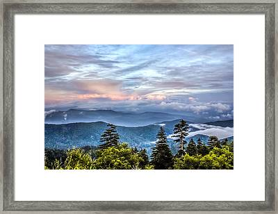 Framed Print featuring the photograph Great Smoky Mountains by Rob Sellers