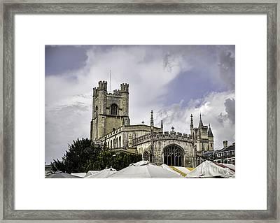 Great St  Marys The University Church Cambridge Framed Print by Frank Bach
