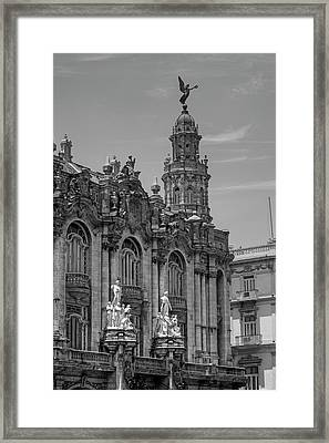 Great Theatre Of Havana  Havana, Cuba Framed Print