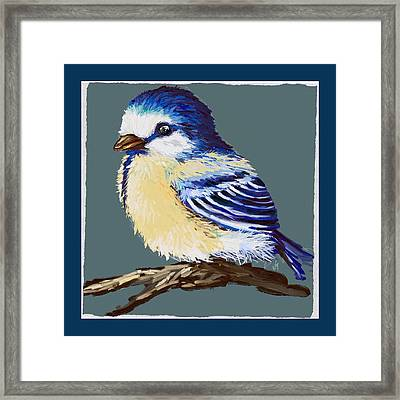 Great Tit Framed Print by Veronica Minozzi